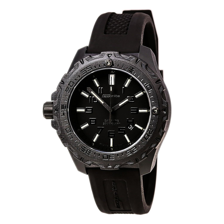 Isobrite T100 Eclipse Watch Green - Blue & Orange Tritium ISO203MIL