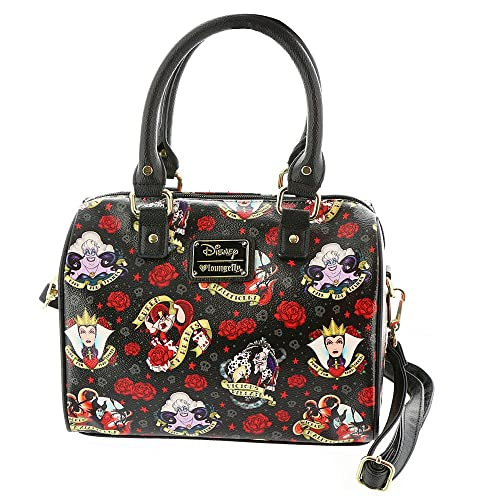 9599c040649 Loungefly womens Disney Villains And Roses Faux Leather Handbag Standard   Amazon.ca  Shoes   Handbags