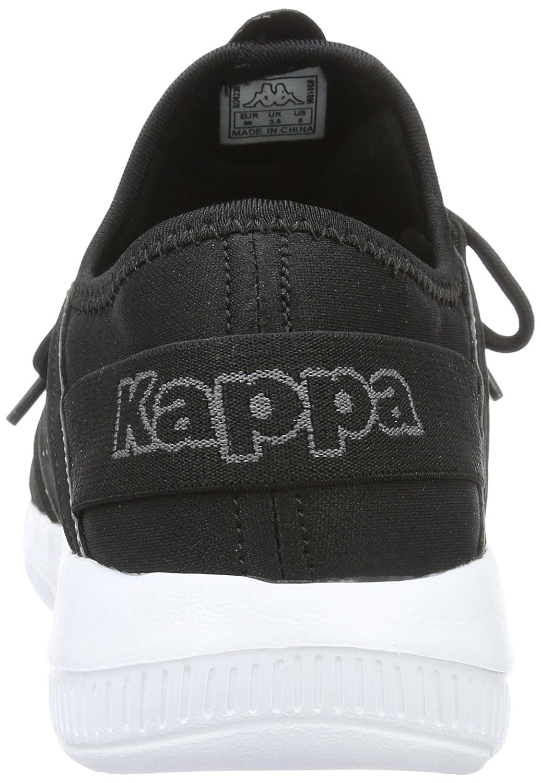 Unisex-Erwachsene Sphinx Low-Top, Schwarz (Black/White), 45 EU Kappa