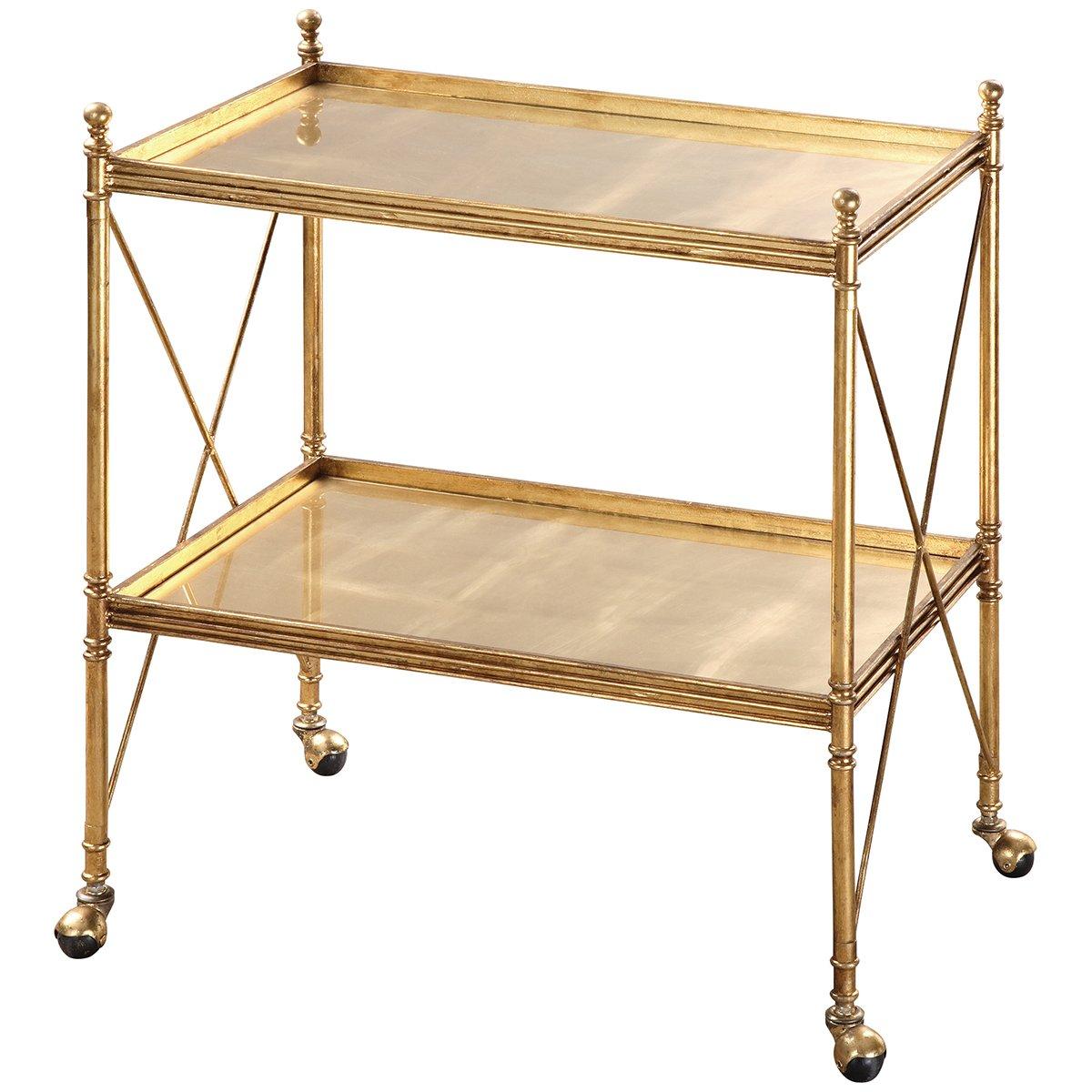 Uttermost 24464 Amaranto Serving Cart, Gold