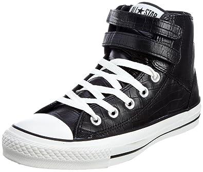 Converse Chuck Taylor All Stars 2 Strap Hi Schwarze Unisex