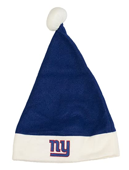 e6890674bc603f Image Unavailable. Image not available for. Color: New York Giants Basic  Felt Santa Hat