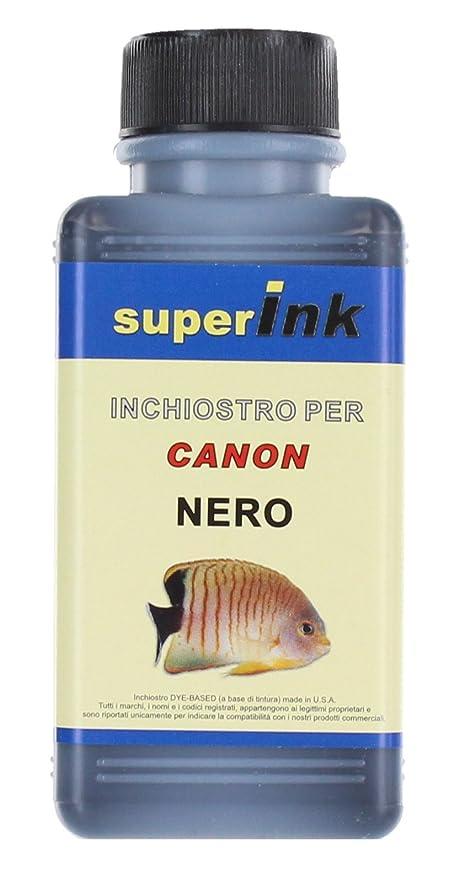 6 opinioni per 100ml (NERO)- Inchiostro superInk specifico per la ricarica di stampanti inkjet