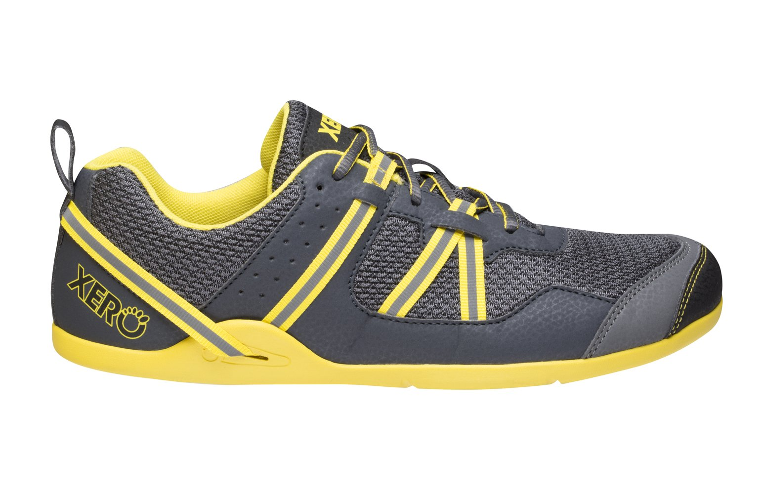 Xero Shoes Prio - Men's Minimalist Barefoot Trail and Road Running Shoe - Fitness, Athletic Zero Drop Sneaker - True Yellow by Xero Shoes (Image #2)