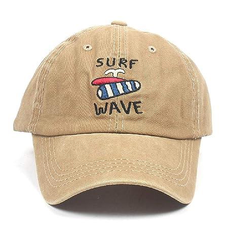 Gorra de béisbol para mujer Patrón de surf Gorra de béisbol de ...