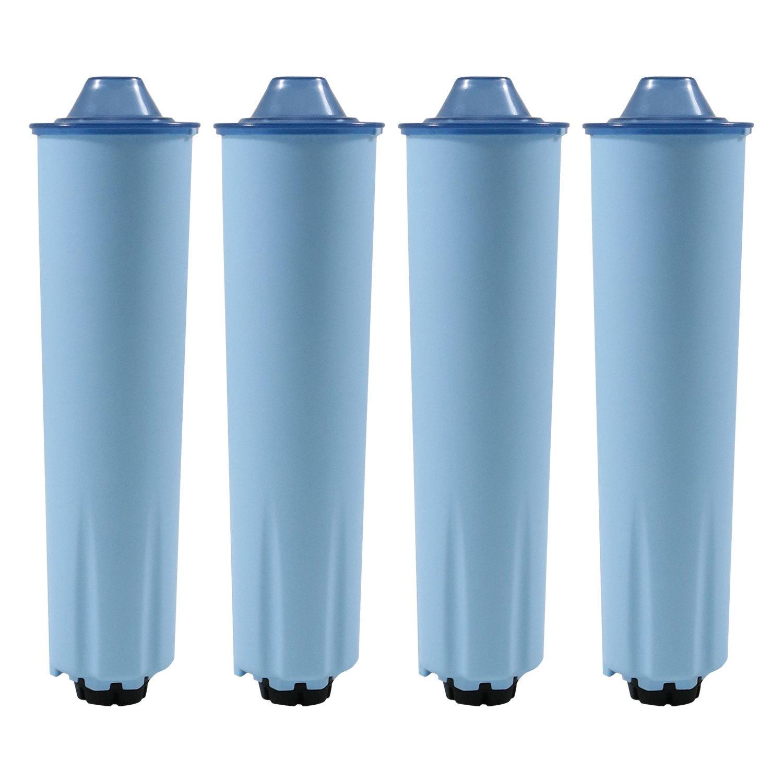 4 x Wasserfilter-Patrone f/ür Kaffeevollautomaten von Jura Filterpatrone BLUE