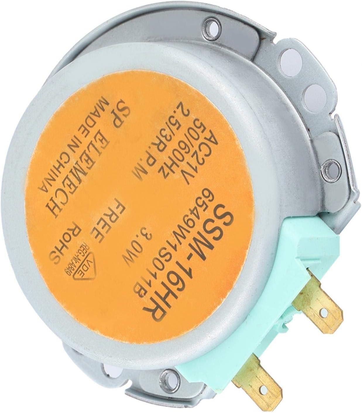 Horno de microondas Motor de Plato Giratorio Pieza de Horno de microondas Motor de Plato Giratorio de microondas Cocina casera