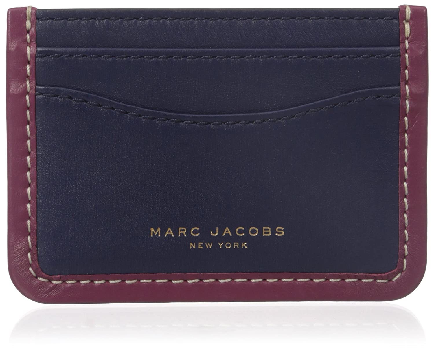 Amazon.com: Marc Jacobs Madison Credit Card Holder, Black, One Size ...
