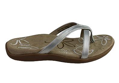 7127860fe12ab0 Scholl Orthaheel Moraga II Womens Supportive Orthotic Comfort Sandals