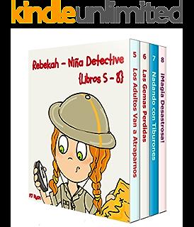 Rebekah - Niña Detective #1: El Jardín Misterioso (una divertida historia de misterio para niños entre 9-12 años) eBook: Ryan, PJ, Hernandez, Daniela: Amazon.es: Tienda Kindle