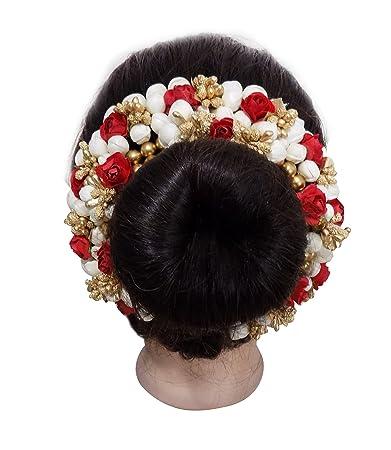 Buy Majik Hair Gajra Accessories For Women Bun Artificial Hair