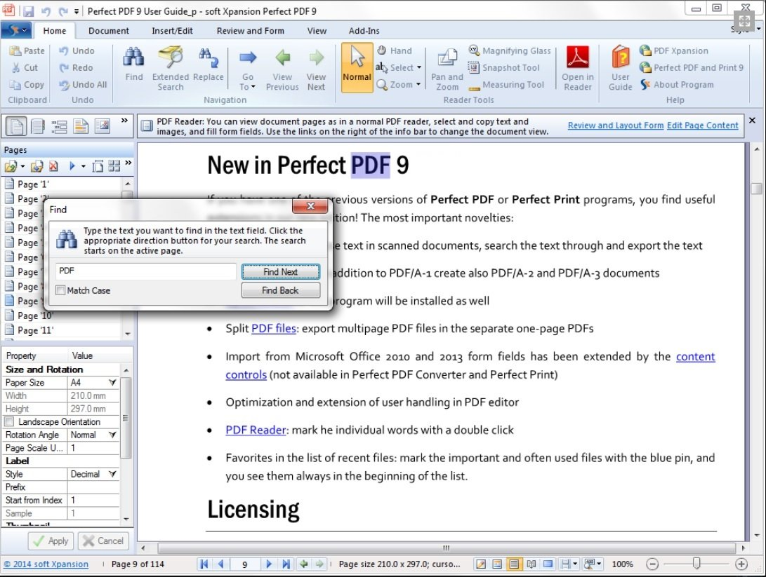 Perfect PDF 9 Premium - Create, Edit, Convert, Protect, Add Comments to,  Insert Digital Signatures in PDFs with the OCR Module   100% Compatible  with