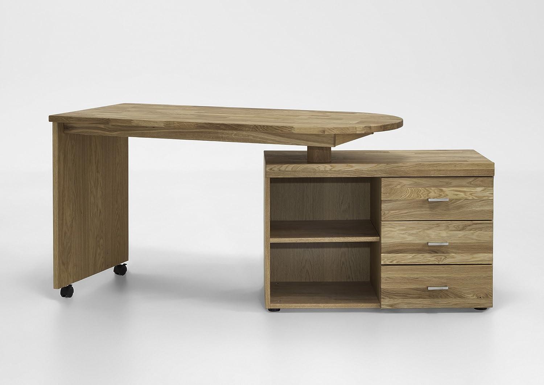 Firstloft Vomika Schreibtisch Platte Drehbar 2 Fächer Und 3