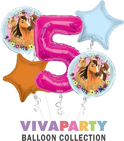 Amazon.com: Ramo de globos de feliz cumpleaños de Spirit ...