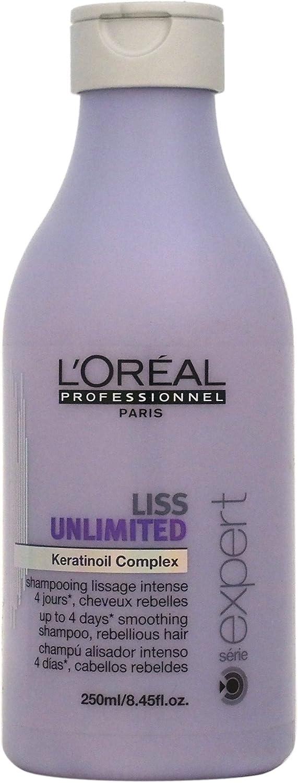 L'Oréal Professionnel - Champú alisador intenso para cabellos rebeldes, 250 ml