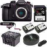 Panasonic GH5 Lumix C4K Mirrorless Camera with Rode VidMic GO Bundle