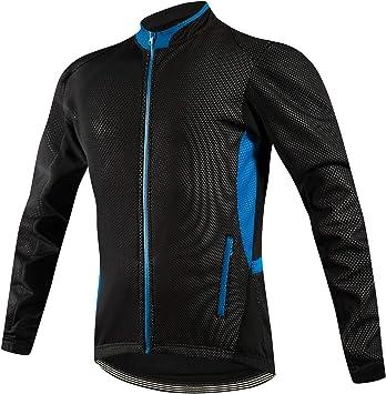 Chaqueta de ciclismo Iogas para hombre, chaqueta de ciclismo ...