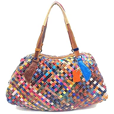 Fashion Leder Mode Damen Handtasche Leder Damentasche Schultertasche