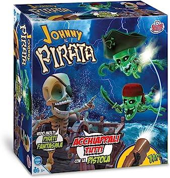 Grandi Giochi - GG01318, Johnny Il Pirata, multicolor , color/modelo surtido: Amazon.es: Juguetes y juegos