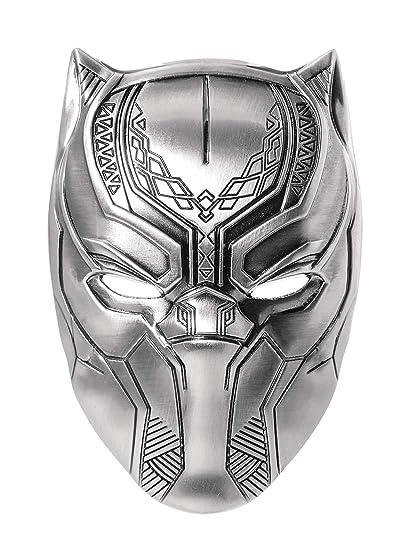 Marvel Black Panther Mask Pewter Lapel Pin