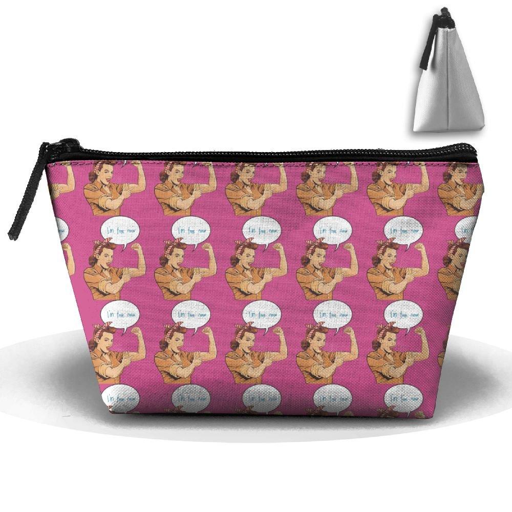 Bxsnd Super Mom Fine Unisex Oxford Cosmetic Bag Cute Teens Makeup Bag Small Pencil Case