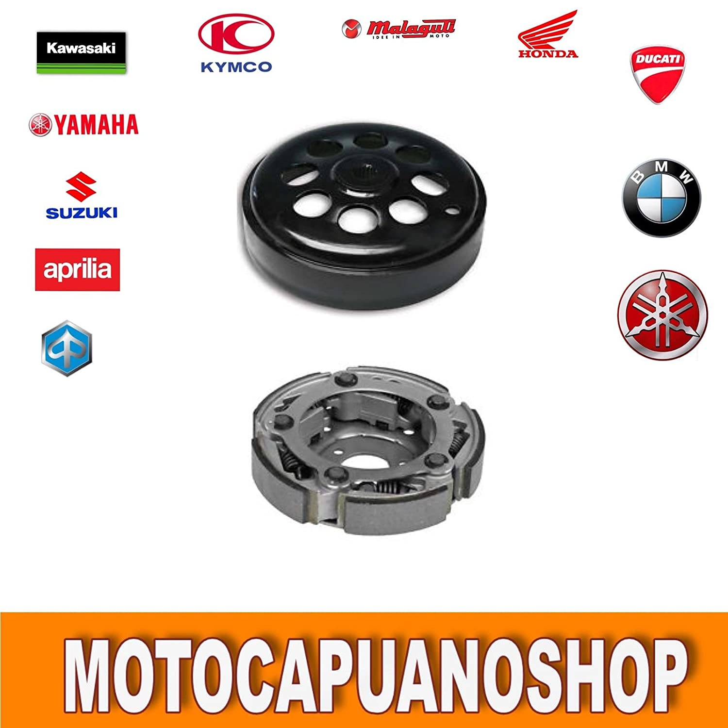 Kit Campana impulsor embrague Yamaha YP 400 Majesty ABS 2010 2011 Malossi: Amazon.es: Coche y moto