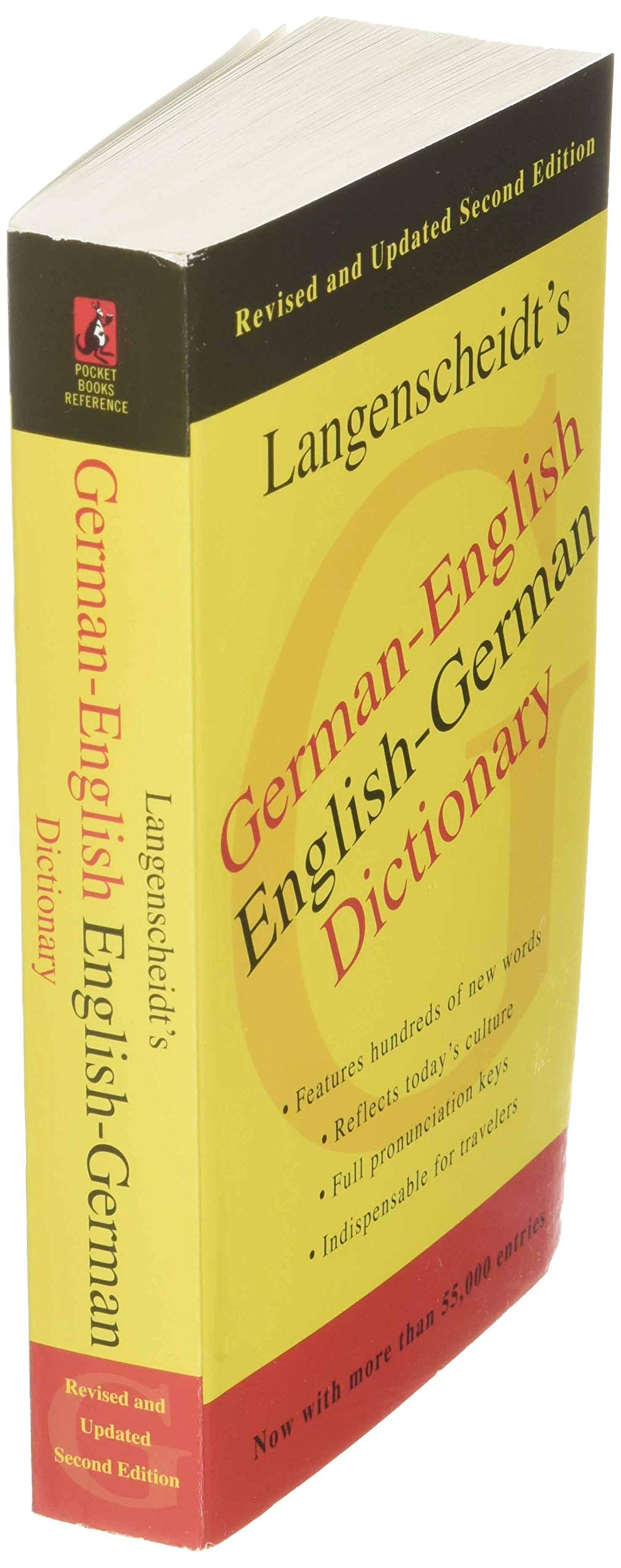 German English Dictionary, Second Edition  Langenscheidt ...