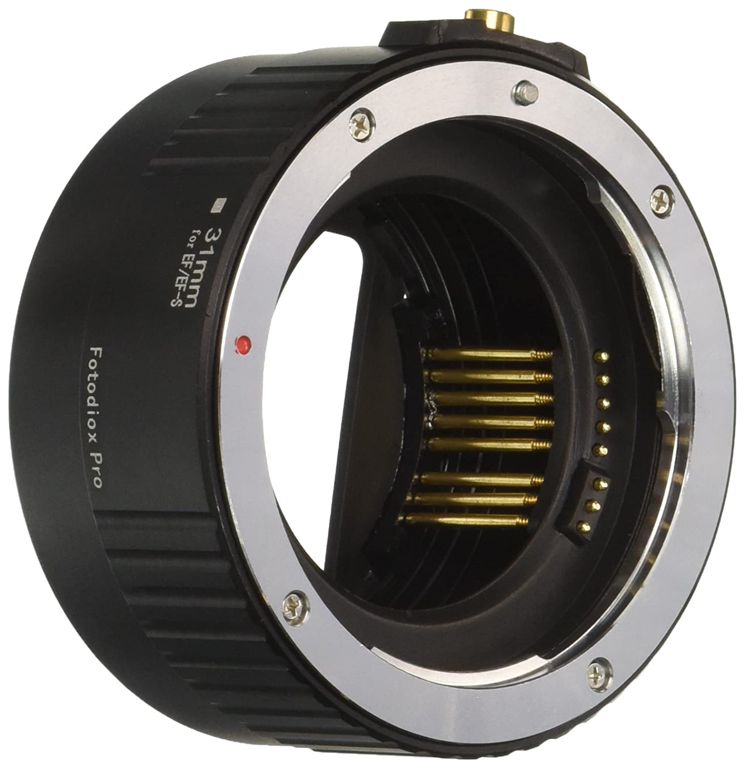 Fotodiox Pro Auto Macro Extension Tube Kit for Canon EOS EF/EF-S Lenses for Extreme Close-Up, Black Fotodiox Inc. MCR-EOS-AF-KIT-Pro