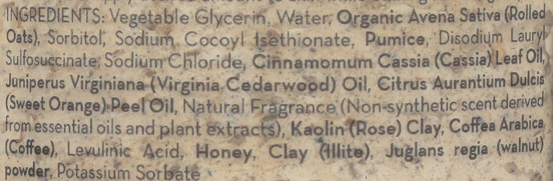 Amazon.com: Pacha, jabón exfoliante para harina de avena, 10 ...
