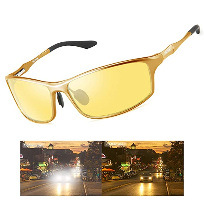 3cb9c6e409 Amazon.com  SOXICK Night Time Driving Glasses