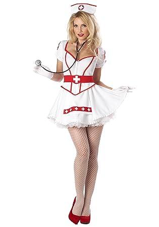 Disfraz Enfermera sexy mujer L: Amazon.es: Juguetes y juegos