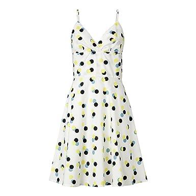 66e4bb851272d1 THOKKTHOKK Kleid Triplepolka Weiß Bio Fair  Amazon.de  Bekleidung