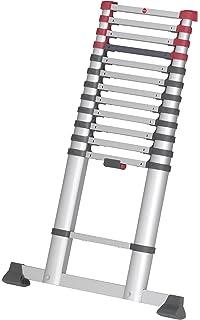 Ordentlich Finether 5M Teleskopleiter mit Fingerklemmschutz ausziehbare  YL36