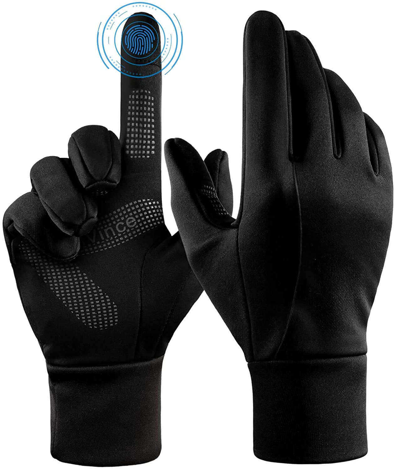 Winter Gloves Touch Screen Water Resistant Thermal Glove for Running Cycling Driving Phone Texting Outdoor Hiking Windproof Warm Gifts for Men and Women