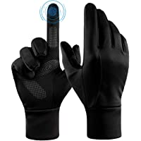 Winter Thermal Gloves with Touch Screen Fingers - Windproof Water Resistant Warm Glove for Running Cycling Driving Snow…