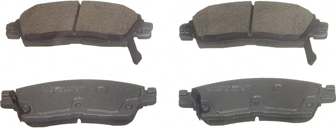 Disc Brake Pad Set-ThermoQuiet Disc Brake Pad Front Wagner QC882