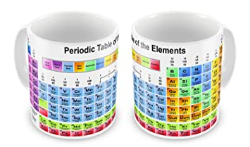 Periodic table of the elements science mug amazon garden periodic table of the elements science mug urtaz Choice Image