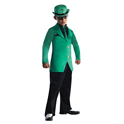 Rubies DC Super Villains Child Riddler Costume, Medium: Toys & Games