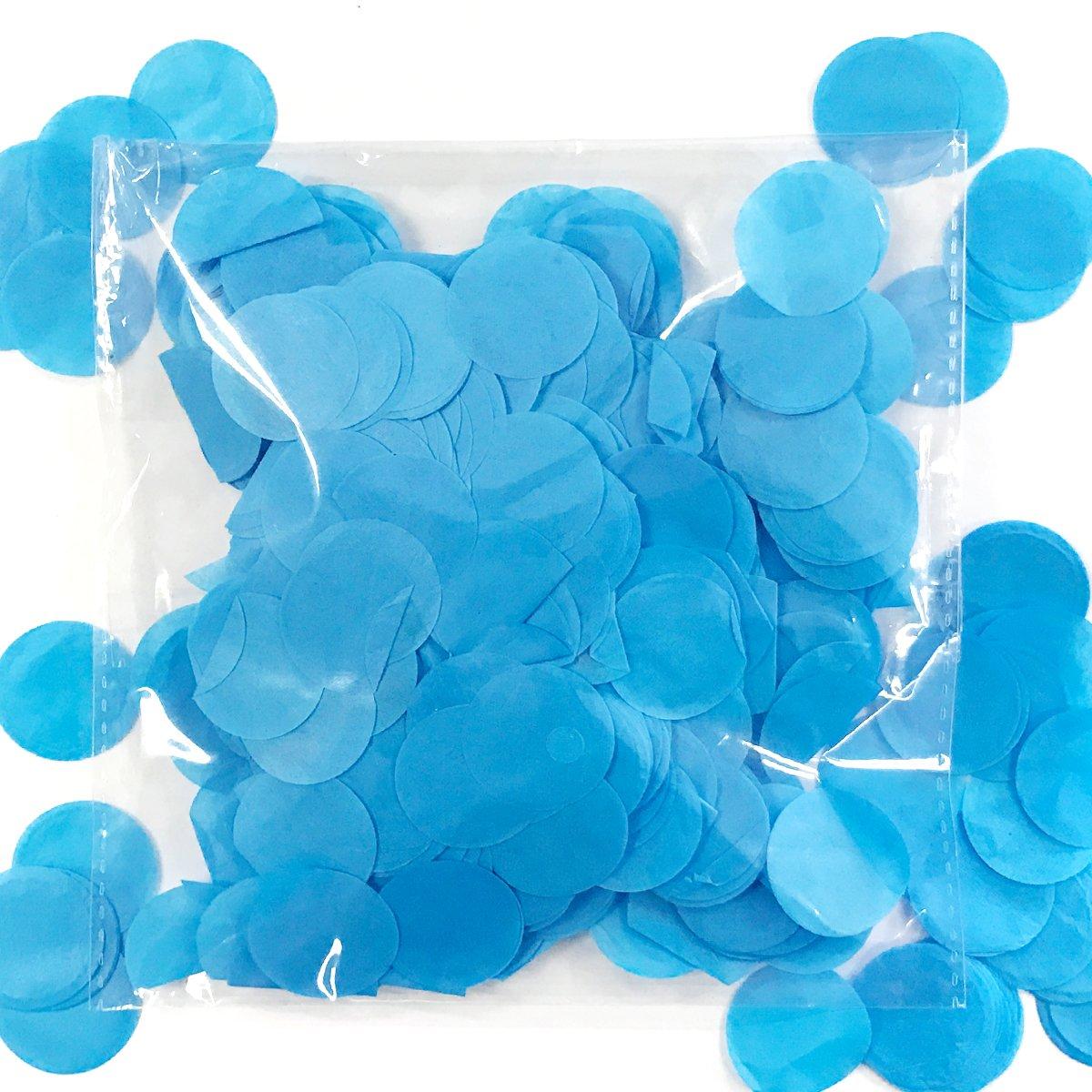 Navy ALLYDREW Round Tissue Paper Confetti 1 Circle Confetti