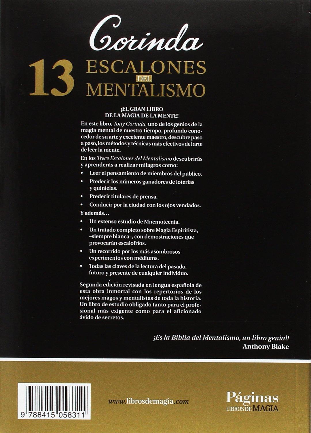 13 escalones del mentalismo