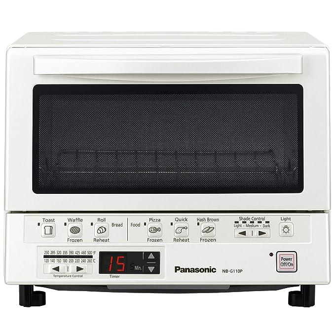 Panasonic NB-G110PW horno para pizza - Horno para pizzas (Eléctrico, Cocina/descongelación, Interior, Color blanco): Amazon.es: Hogar