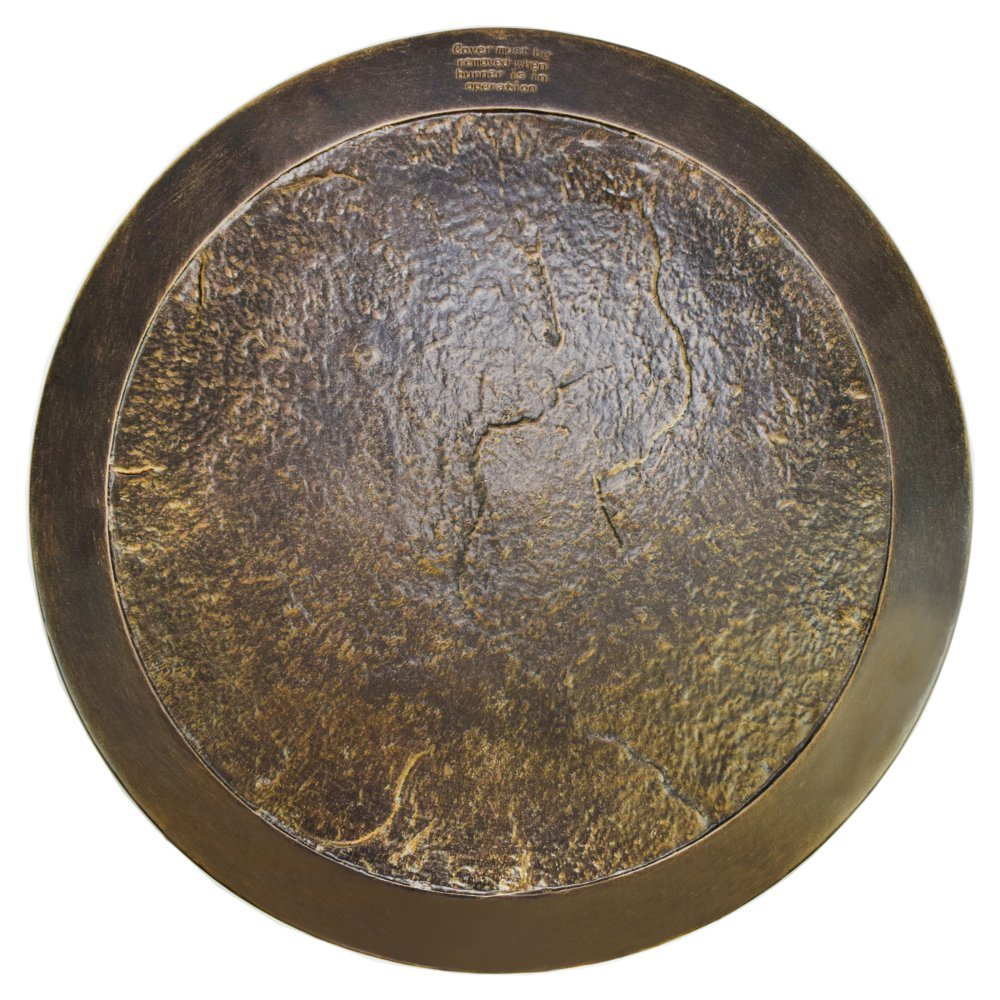Oakland Living Gas Fire Pit Lazy Susan Cover