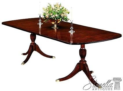 Amazon.com - Henkel Harris Model #2208 Duncan Phyfe Mahogany Dining ...