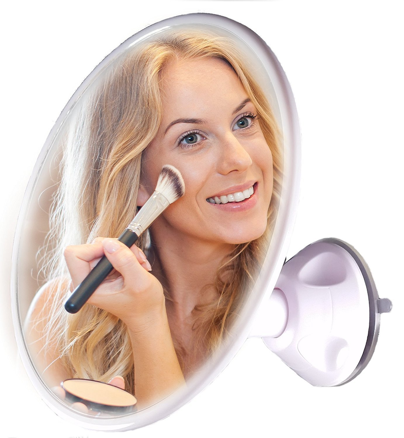 Powerful Magnifying Mirror With Suction Cups. Perfect Vanity Mirror For Makeup and Bathroom Vanity Mirrors. Strong Suction Mirror, Vanity Makeup Mirror, Perfect For Mom