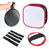 Softbox Diffuser for Video Light Collapsible LED Light Panel Softbox Diffuser with Locking Tape and Carry Bag for Photo Studi