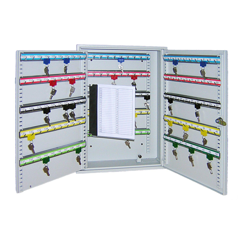 200 Crochets Gris Clair HMF Armoire /à cl/és 550 x 380 x 140 mm