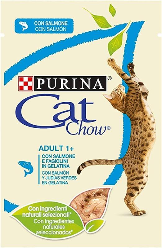 Purina Cat Chow Adult 1+ - Comida Húmeda para Gatos Adultos, 85 gr: Amazon.es: Productos para mascotas