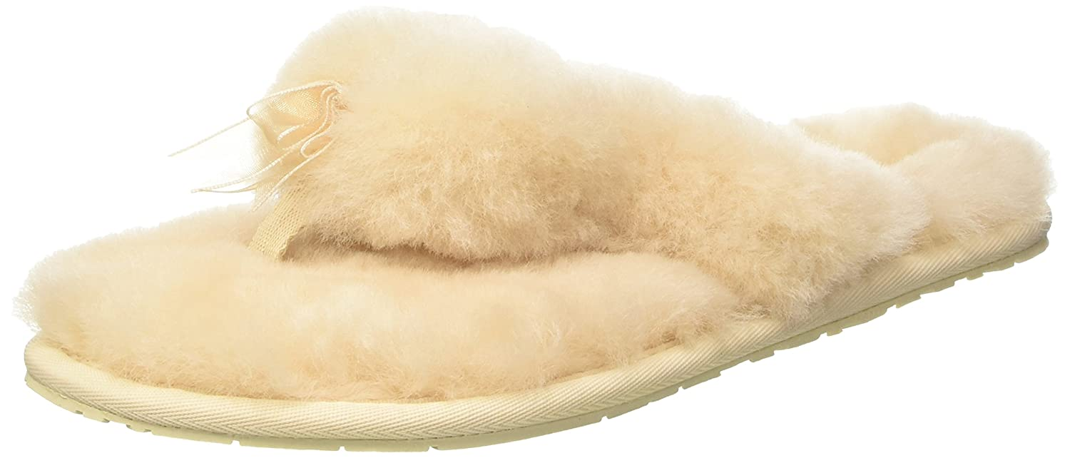 f8d0cb5ae95 UGG Women's Fluff Flip Flop II Slip on Slipper