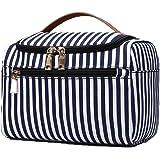 Ladies Wash Bag, ZYSY Portable Travel Toiletry Bag Canvas Cosmetic Makeup Shaving Bag Organizer for Women Men