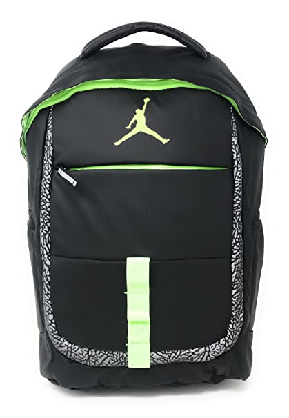 73cca5adf9 Amazon.com  NIKE Jordan Logo Jumpman School Laptop Backpack Black ...